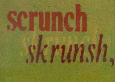 'scrunch'