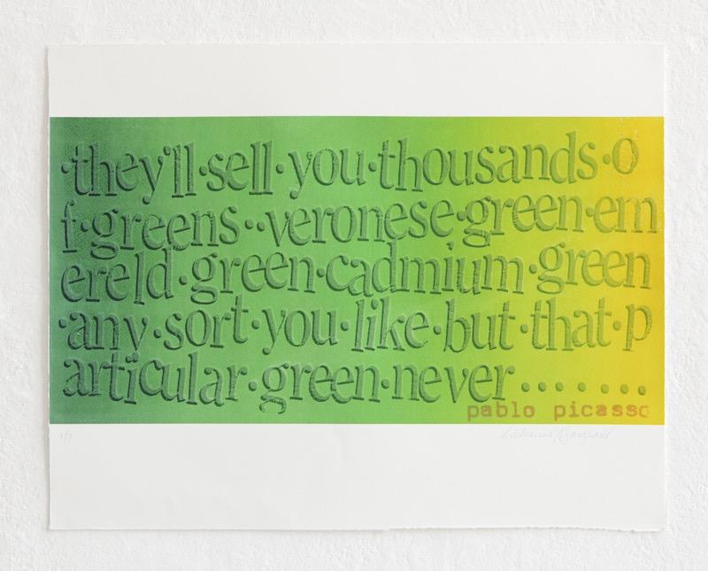 'Spectrum green'