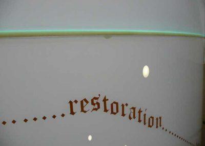 restoration...
