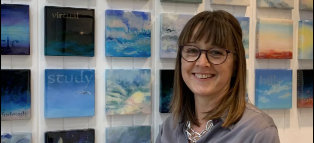 artist talk about April Skies & O for light